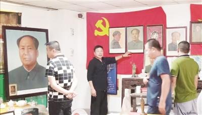 角美一村民自办红色文化展览馆 展示红色藏品传播历史文化