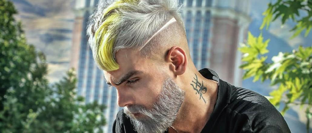 有创意的男士发型
