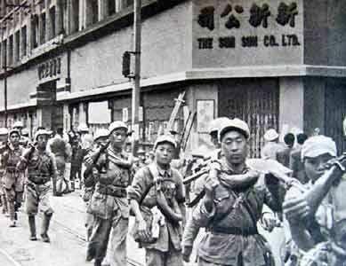 解放军接管上海:宋庆龄劳军 每人发一斤猪肉