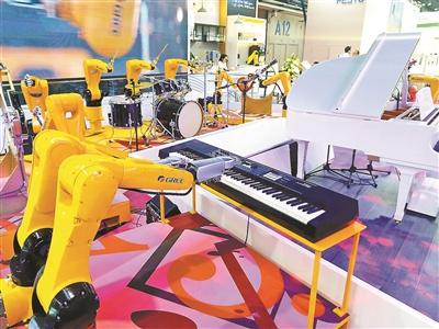 北京去年机器人产业收入100亿元