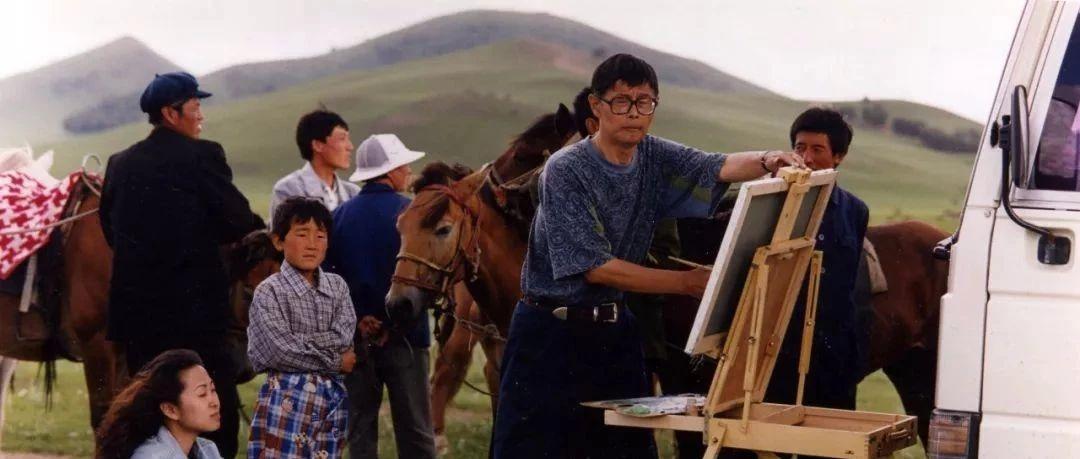 「Hi往事」1993年,他开创了中国艺博会的1.0时代