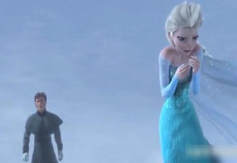 在冰雪奇缘的最后,反派遇到了一个人孤独无依的艾莎公主