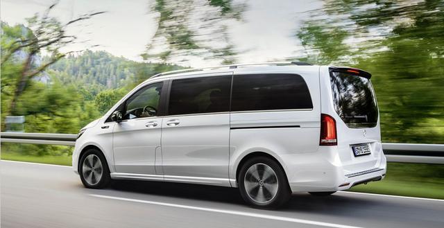豪华品牌首款纯电MPV—奔驰EQV官图发布,续航405km