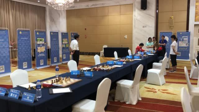 国象甲级联赛白雪棋院专场收官战,上海与北京五盘全部握手言和