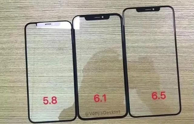 延续iPhone X的屏幕设计?新iPhone前面板曝光