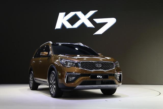 合资七座SUV 不到20万,起亚KX7能否成为二胎家庭好选择