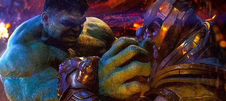 漫威最受好评的5个单挑场景,绿巨人大战灭霸上榜,图5最经典!