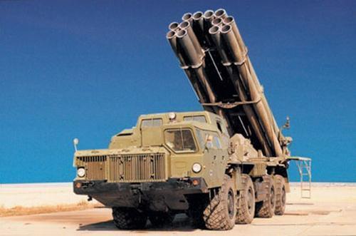 俄军重型火箭炮再次升级,首次具备精确打击能力 性能已落后中美