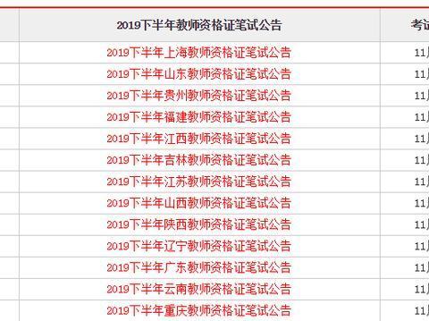 截止今天14省出教资公告,各省报考条件有变!快看是否有你等的省