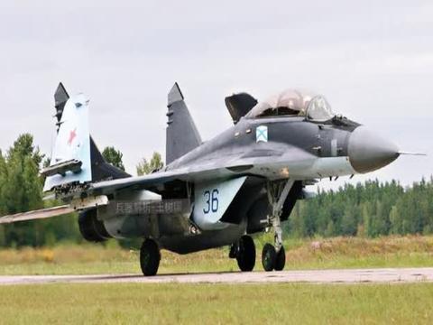 俄罗斯测试米格29K舰载机!换装甲虫ME雷达,性能不及歼15