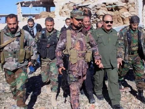 俄罗斯插手!叙利亚政府军获得最强增援 美国盟友被逼到墙角