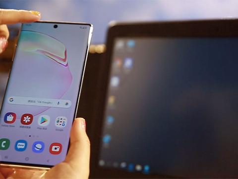 三星Galaxy Note 10的Windows Link比Your Phone好用