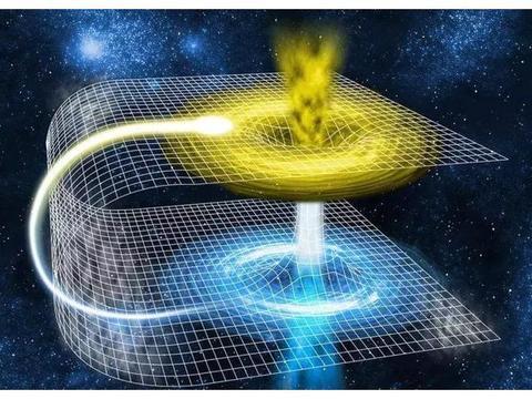 虫洞:连结两个遥远时空的多维空间隧道