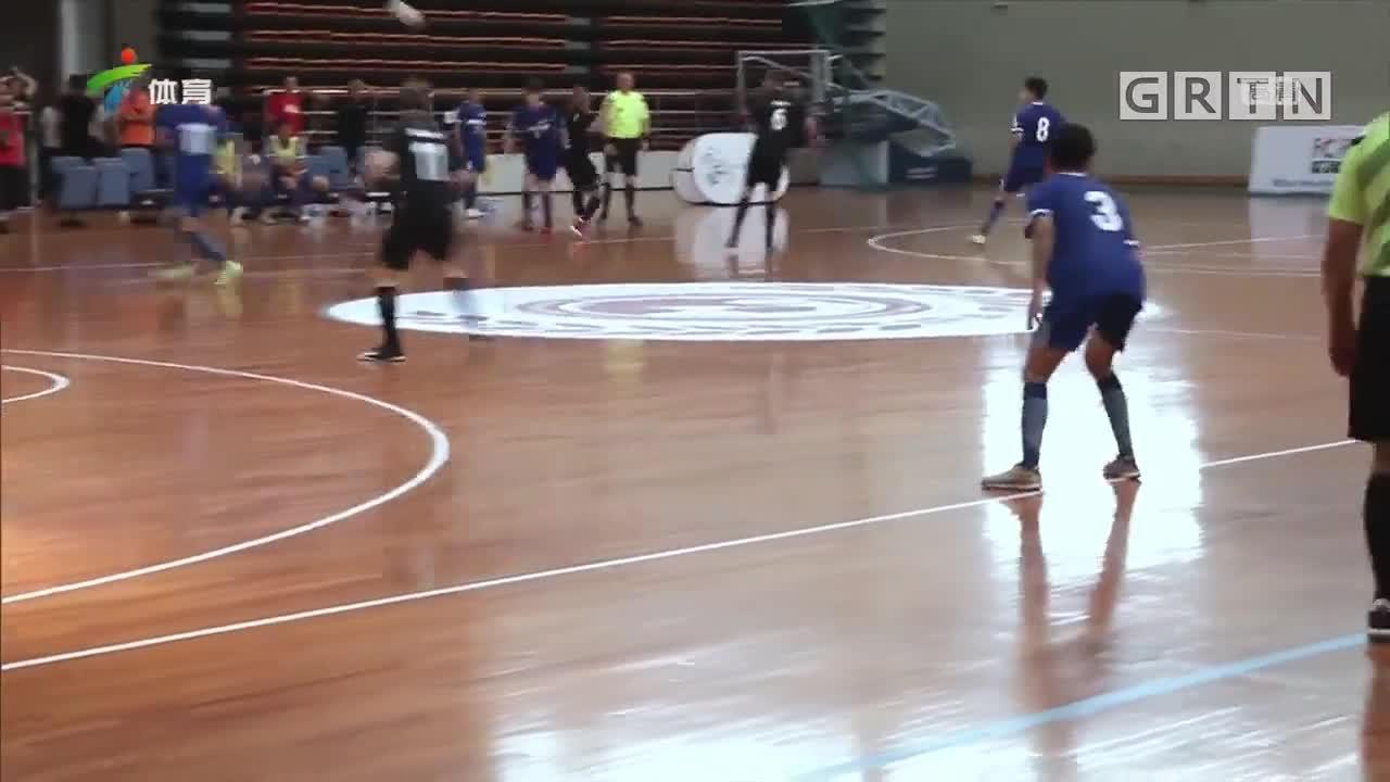 2019中国侨都室内五人制国际足球嘉年华开幕
