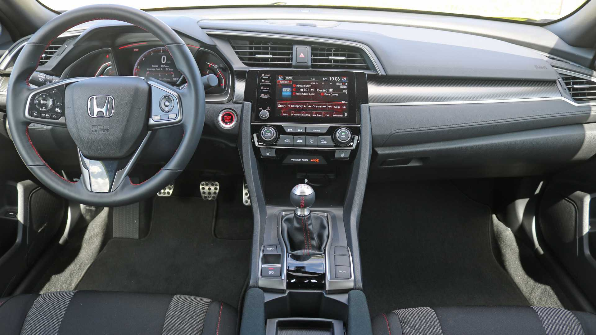 思域的那点干货:208马力,两扇门胜高尔夫GTI,缺点也不少