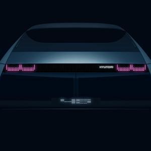 现代新款概念电动车彰显未来设计 并将亮相法兰克福车展