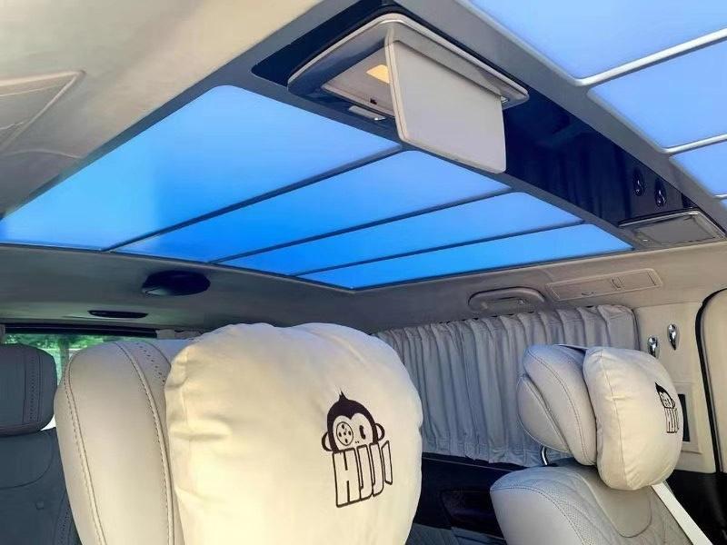 奔驰V级商务升级迈巴赫680内饰,颜值高舒适度好