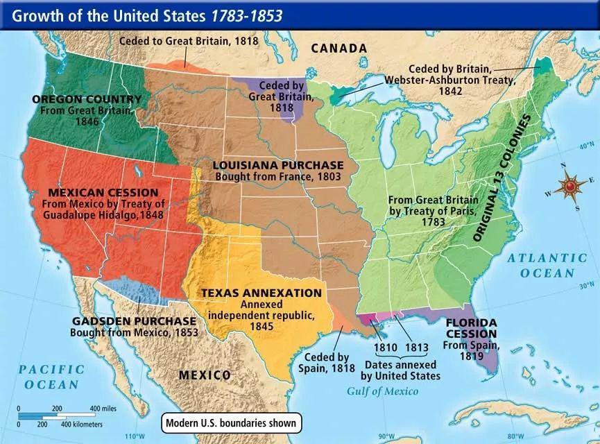 买丹麦领土?其实,美国就是这么买大的