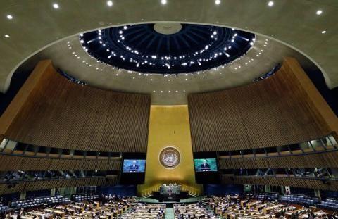 联合国公布一份报告,110国集体通过,美国将失去大会投票权?