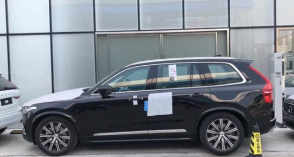 全新一代沃尔沃XC90实车到店!配对向车道预警系统 搭载2.0T!