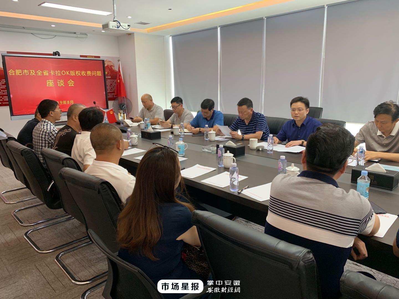 安徽省文化市场发展促进会召开卡拉OK音乐版权问题座谈会