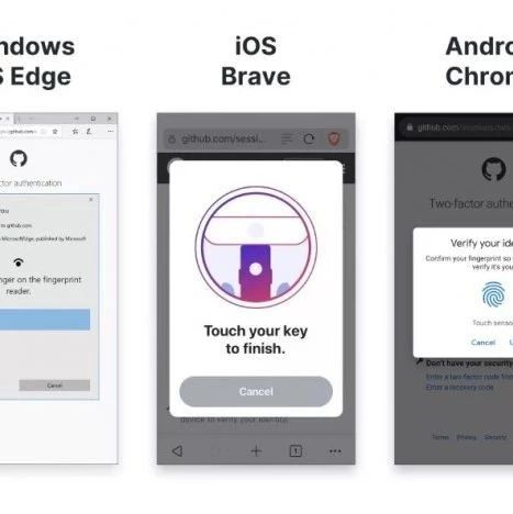 GitHub 现在支持安全密钥和生物识别选项进行身份验证   每日安全资讯