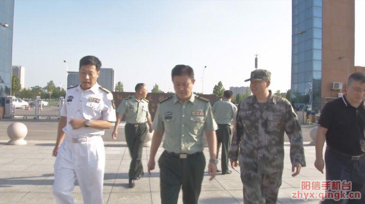 省军区动员局局长王建政到阳信指导检查征兵工作