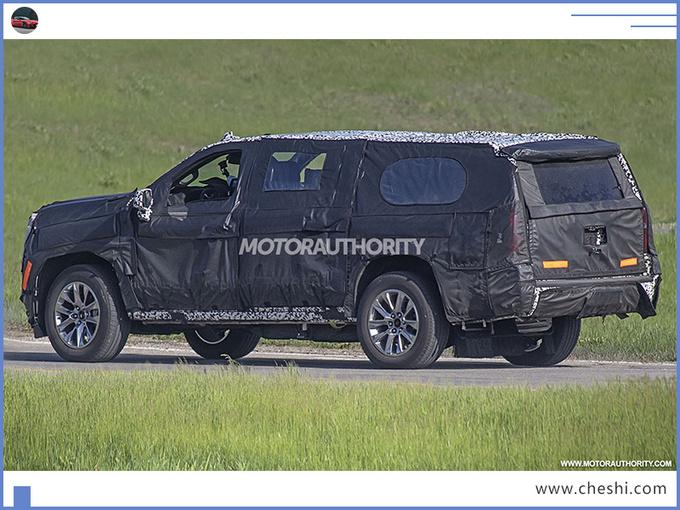 比凯雷德还大的旗舰SUV!外观霸气配6.2L V8,后排能躺三个人