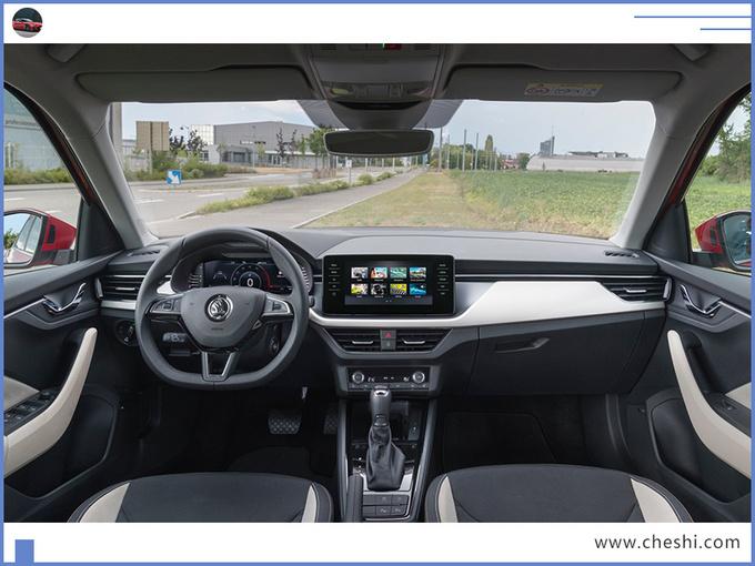 斯柯达这款SUV,与本田缤智同级,先看内饰,再决定买不买