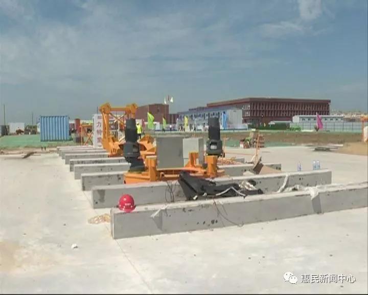 惠民县职业中专新校正式开工建设