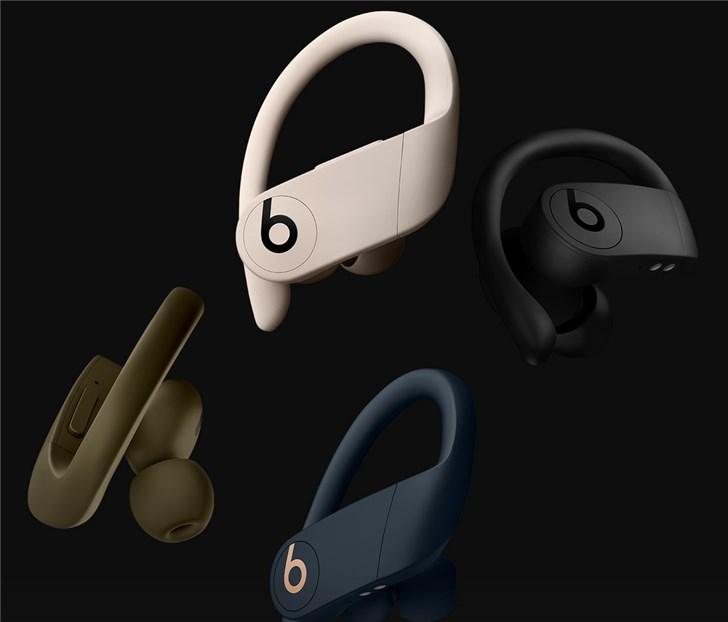 Beats Powerbeats Pro三款全新配色开启预约:苹果H1芯片,1888元