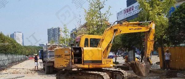 关于长虹大道、庐山南路改造的疑问,施工方的解答来了!
