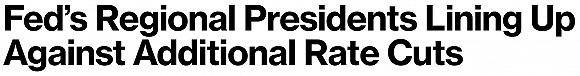 【天下头条】多名美联储官员反对再降息 美股涨跌互现波音提振道指收高