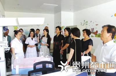 国家新生儿先心病筛查项目调研组赴清镇市妇幼保健院调研指导