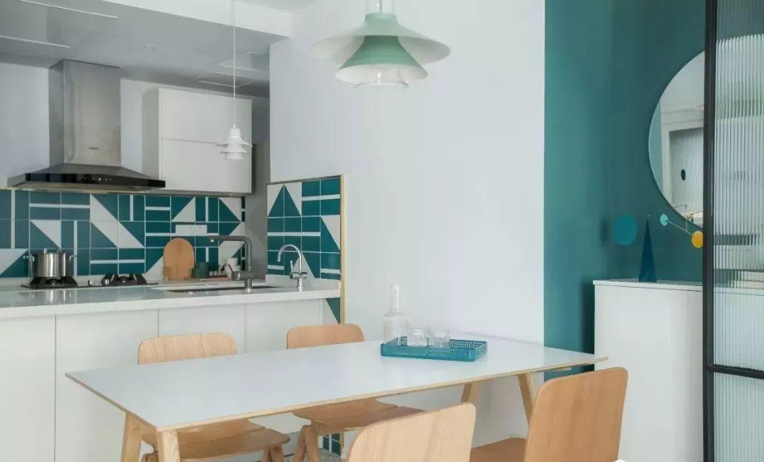 莫兰迪色打造75平二居室,卫生间效果超棒,求同款瓷砖链接