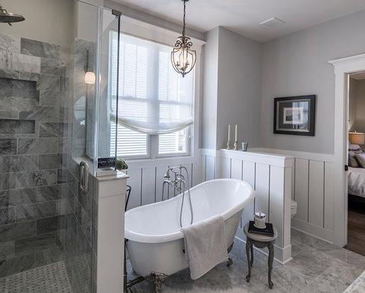 卫生间不要装淋浴房了,这种设计更省钱实用,后悔我家装早了