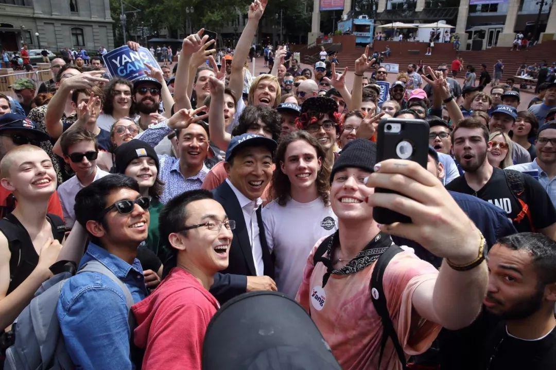 杨安泽向白宫发起冲击 激起华人助选和参政热情