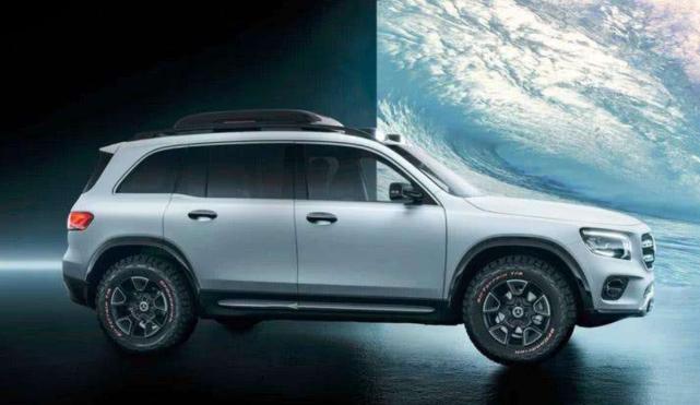 全新奔驰GLB即将开售,比宝马X1还大,年内国产上市