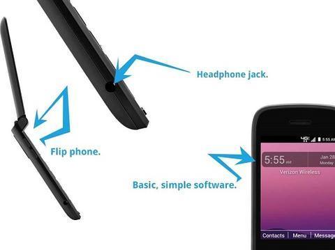 Verizon推出Orbic Journey V翻盖功能机 采用内外双屏设计
