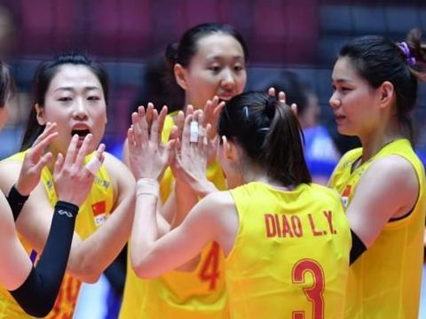 她主导中国女排逆转日本,成二队关键大腿