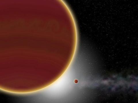 在这个乱石横飞的年轻恒星系中,天文学家发现第二颗巨行星