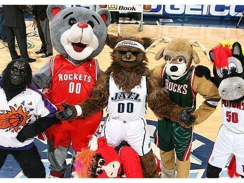 NBA吉祥物你不知道的故事:露脸会被炒鱿鱼,吉祥物也有MVP