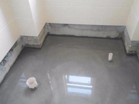 卫生间明明做了防水试验,可短时间内漏水了,原来是丢了重要一步
