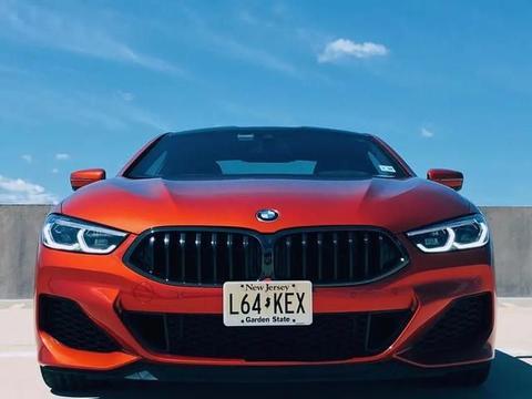 烈焰橙全新宝马M850i,将于九月成都车展上市