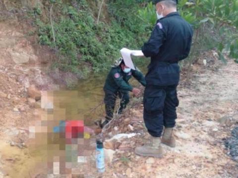 14岁少女在柬埔寨西港被先奸后杀抛尸排水沟