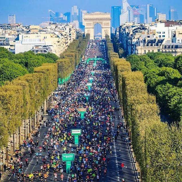 2020.4.5 巴黎马拉松:卢浮宫、凯旋门、巴士底狱...你所知道的巴黎,都在赛道上!