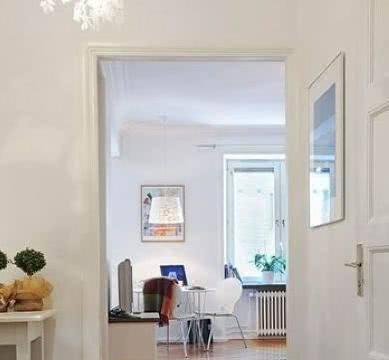 42平现代简约空间,客厅打通式设计,蜗居也能享受豪宅感