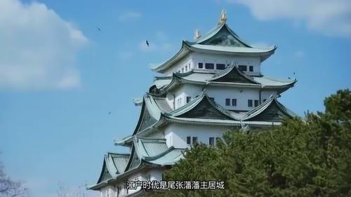 """名古屋城与大阪城,熊本城被合称为""""日本三大名城"""""""