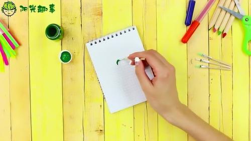 创意手工DIY:超迷你颜料笔,制做一个试试吧!