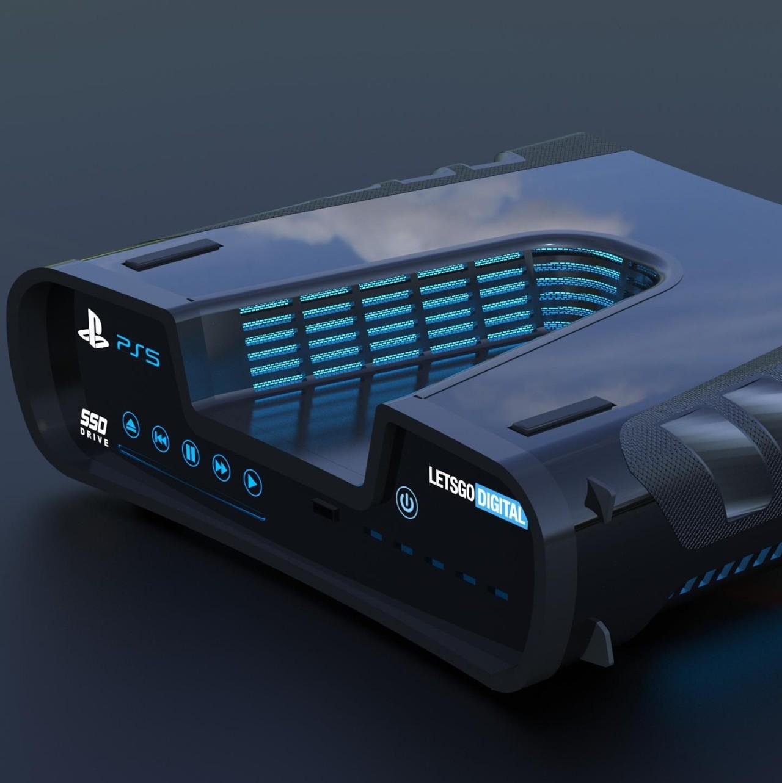 有人给PS5开发机专利图做了3D渲染
